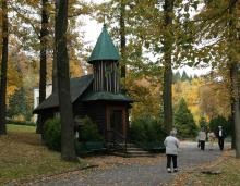 Kaple nejsvětější panny Marie v areálu BRC